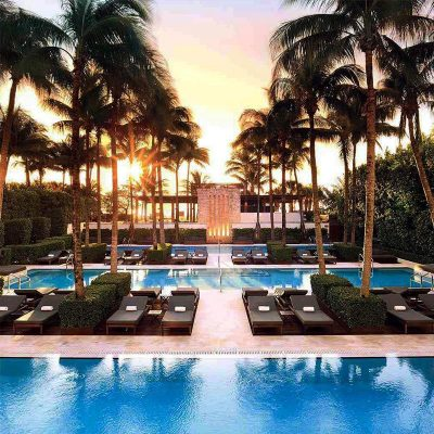The Setai boutique hotel in Miami Beach
