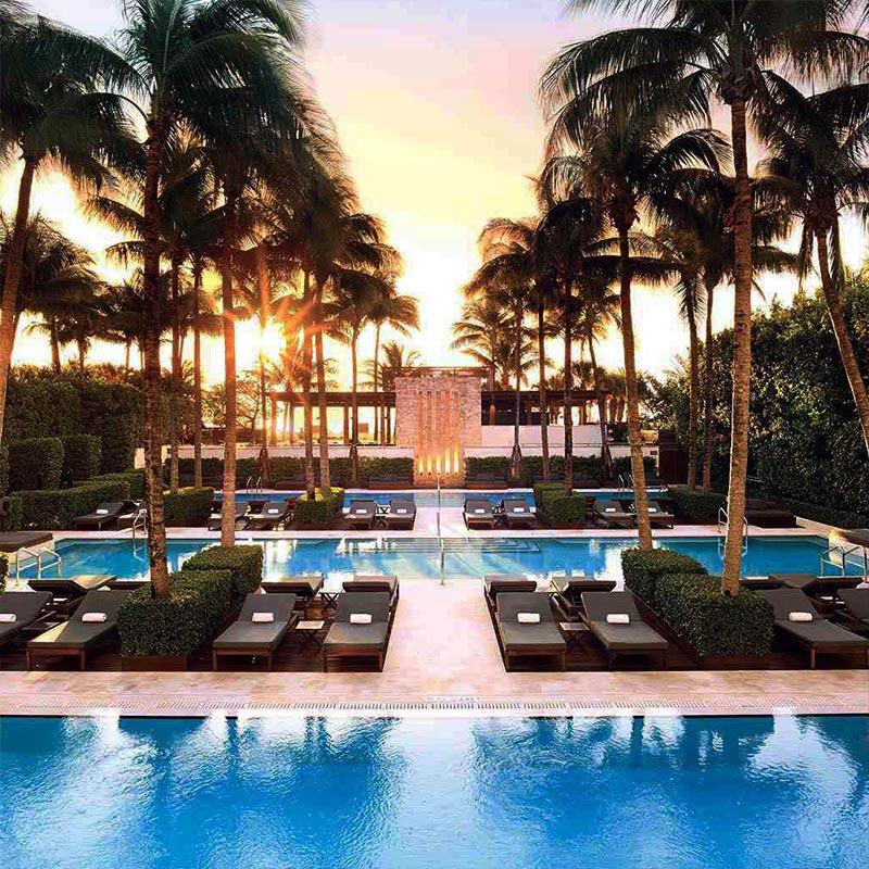 The Setai boutique hotel in Miami Beach