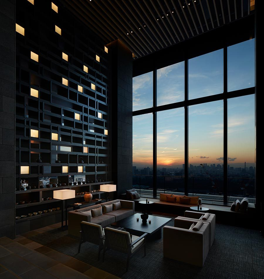 Best Boutique Hotel Lobbies - Aman Tokyo - Tablet Hotels