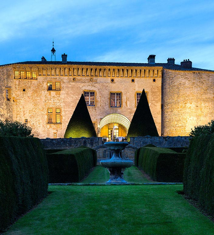 Chateau De Bagnols France - Castle Hotel