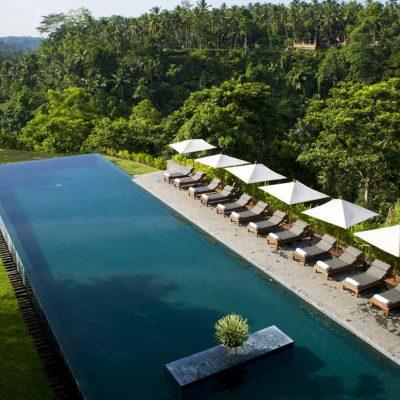 Alila Ubud boutique hotel in Bali
