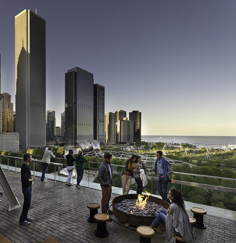 Chicago Athletic Association hotel Chicago