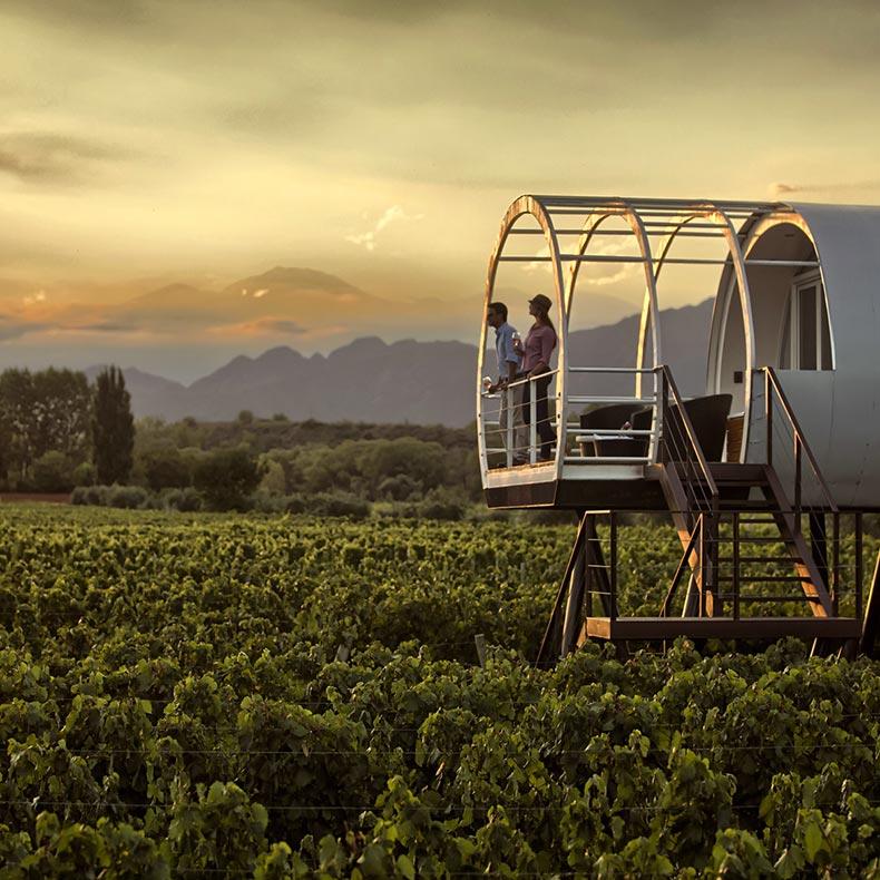 Entre Cielos Wine Hotel Mendoza, Argentina