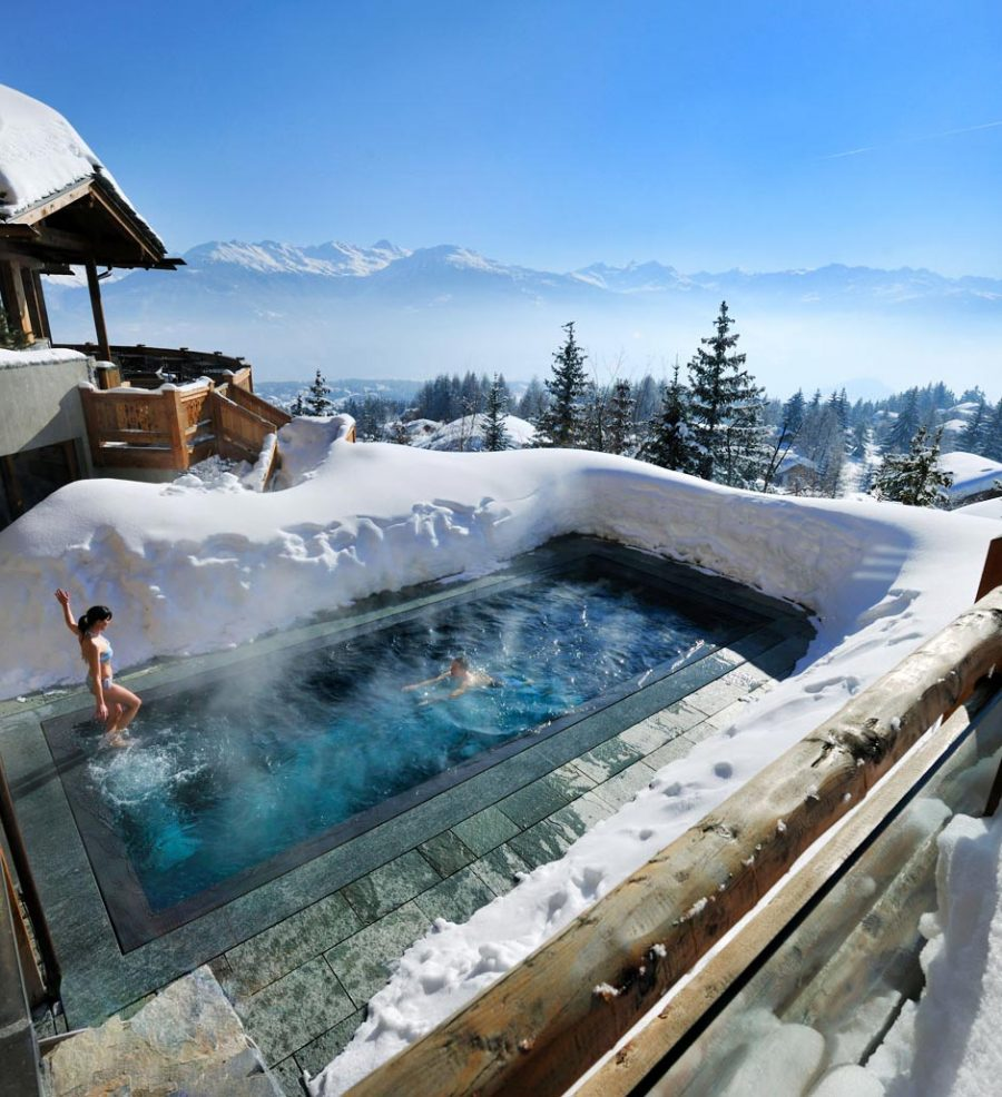 Boutique Hotels for Skiing - LeCrans Hotel & Spa