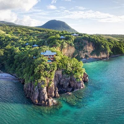 Secret Bay Boutique Hotel in Portsmouth, Dominica