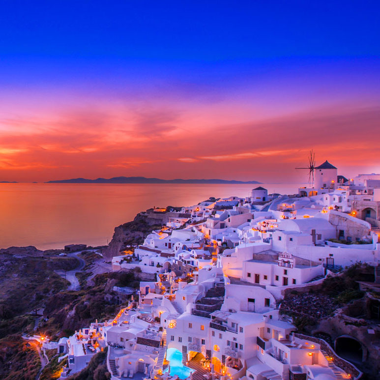 Hotels de charme Santorini