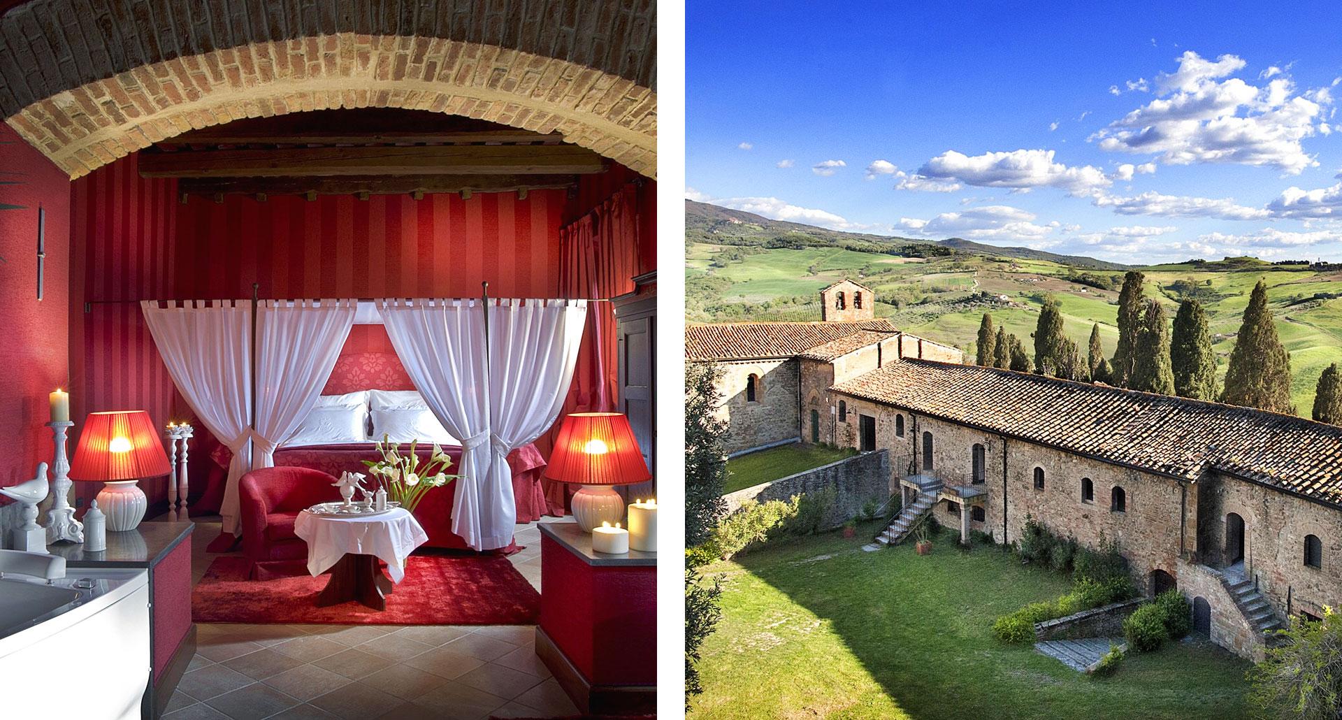 Castel Porrona - boutique hotel in Cinigiano