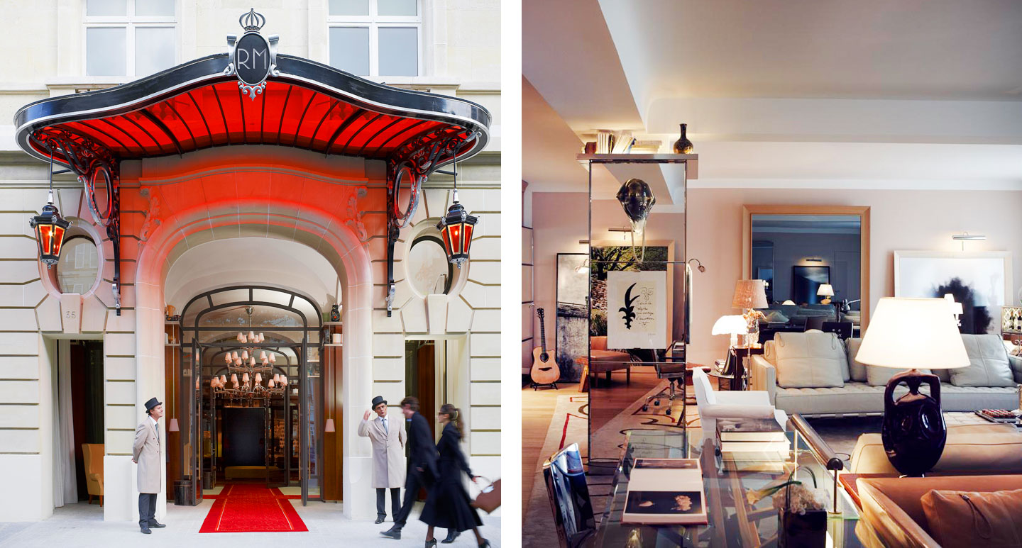 Le Royal Monceau - Raffles Paris - Boutique hotel in Paris