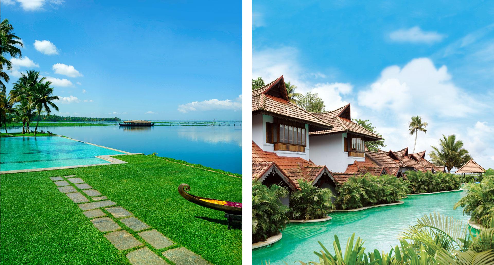 Kumarakom Lake Resort - boutique hotel in Kumarakom