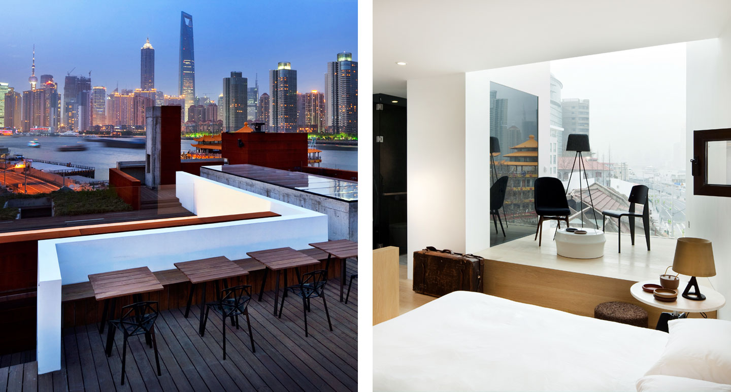 The Waterhouse at South Bund - boutique hotel in Shanghai